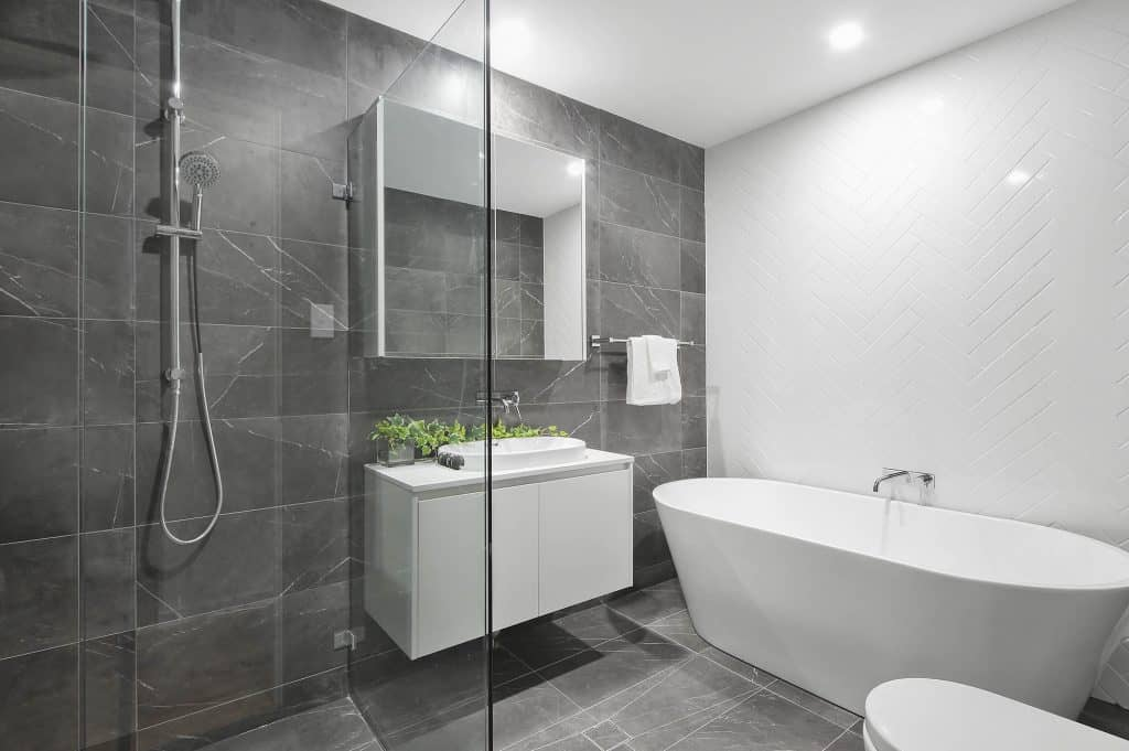 Bathroom renovation sample