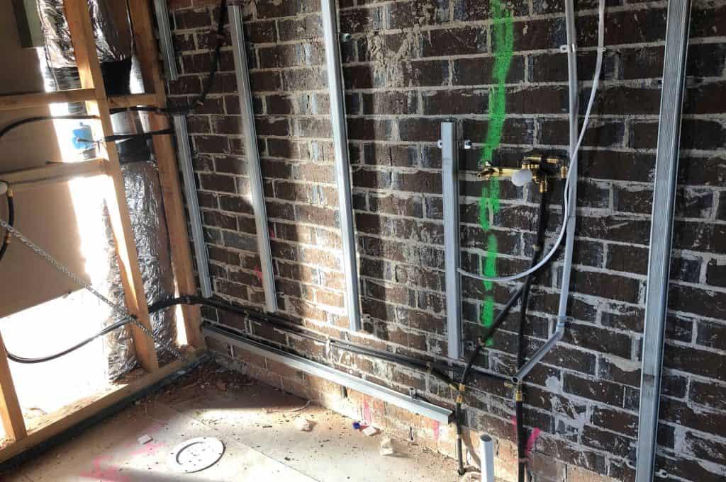 bathroom renovation construction